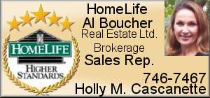 Holly Cascanette - HomeLife Al Boucher Real Estate Ltd.